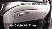 2016 Honda Pilot EX 3.5L V6 Filtro de aire (interior)