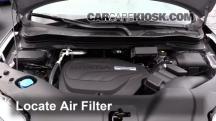 2016 Honda Pilot EX 3.5L V6 Filtro de aire (motor)