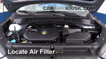 2016 Hyundai Tucson SE 2.0L 4 Cyl. Filtro de aire (motor)