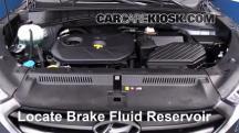 2016 Hyundai Tucson SE 2.0L 4 Cyl. Brake Fluid