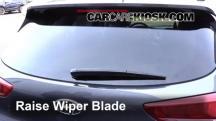 2016 Hyundai Tucson SE 2.0L 4 Cyl. Escobillas de limpiaparabrisas trasero