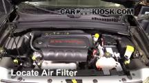 2016 Jeep Renegade Limited 2.4L 4 Cyl. Air Filter (Engine)