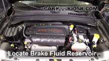 2016 Jeep Renegade Limited 2.4L 4 Cyl. Brake Fluid