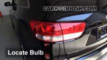 2016 Kia Sorento LX 3.3L V6 Lights