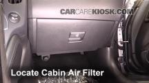 2016 Nissan 370Z 3.7L V6 Coupe Filtro de aire (interior)