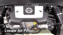 2016 Nissan 370Z 3.7L V6 Coupe Air Filter (Engine)