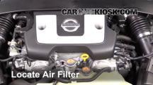2016 Nissan 370Z 3.7L V6 Coupe Filtro de aire (motor)