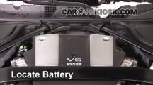 2016 Nissan 370Z 3.7L V6 Coupe Batería