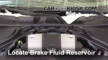 2016 Nissan 370Z 3.7L V6 Coupe Brake Fluid