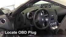 2016 Nissan 370Z 3.7L V6 Coupe Compruebe la luz del motor