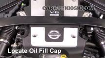 2016 Nissan 370Z 3.7L V6 Coupe Aceite