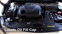 2016 Nissan Maxima SR 3.5L V6 Oil