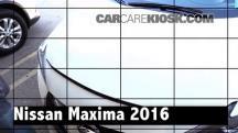 2016 Nissan Maxima SR 3.5L V6 Review