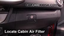 2016 Toyota Tacoma SR5 3.5L V6 Crew Cab Pickup Filtro de aire (interior)