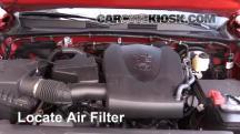 2016 Toyota Tacoma SR5 3.5L V6 Crew Cab Pickup Filtro de aire (motor)