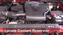 2016 Toyota Tacoma SR5 3.5L V6 Crew Cab Pickup Pérdidas de líquido