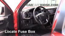 2016 Toyota Tacoma SR5 3.5L V6 Crew Cab Pickup Fusible (interior)
