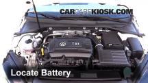 2016 Volkswagen GTI S 2.0L 4 Cyl. Turbo Hatchback (4 Door) Batería