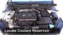 2016 Volkswagen GTI S 2.0L 4 Cyl. Turbo Hatchback (4 Door) Pérdidas de líquido