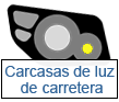 carcasas de luz de carretera