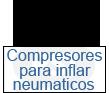 compresores para inflar neumáticos