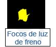 focos de luz de freno