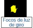 focos de luz de giro