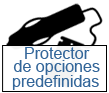 protector de opciones predefinidas