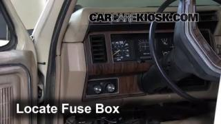 coolant flush how to ford f ford f  1983 1986 ford f 250 interior fuse check