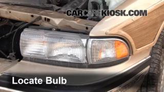 Parking Light Change 1991-1996 Buick Roadmaster