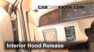Open Hood How To 1991-1996 Buick Roadmaster