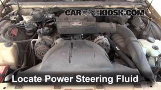 Check Power Steering Level Buick Roadmaster (1991-1996)