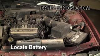 Battery Replacement: 1990-1995 Mercury Sable