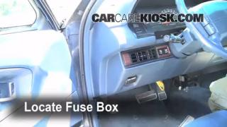 interior fuse box location buick park avenue  1991 1996 buick park avenue interior fuse check