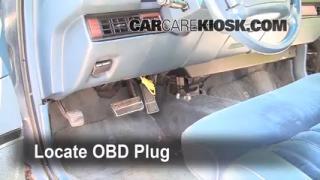 interior fuse box location 1991 1996 oldsmobile 98 1993