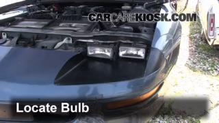 1994 Chevrolet Camaro 3.4L V6 Coupe Lights Headlight (replace bulb)