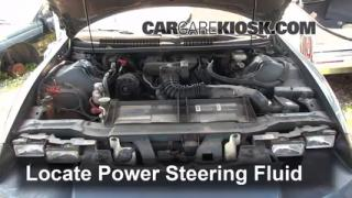 Follow These Steps to Add Power Steering Fluid to a Chevrolet Camaro (1993-2002)
