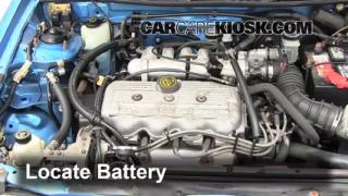 1994 Mercury Tracer 1.9L 4 Cyl. Sedan Battery Clean Battery & Terminals