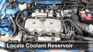 Coolant Flush How-to: Mercury Tracer (1991-1996)