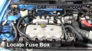 interior fuse box location 1991 1996 mercury tracer 1994 mercury tracer 1 9l 4 cyl sedan
