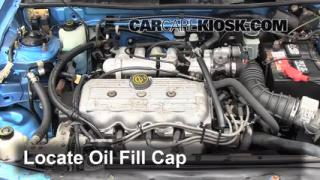 How to Add Oil Ford Escort (1991-1996)