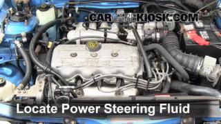 Follow These Steps to Add Power Steering Fluid to a Mercury Tracer (1991-1996)