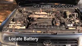 How to Clean Battery Corrosion: 1990-1995 Toyota 4Runner