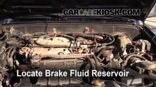 1994 Toyota 4Runner SR5 3.0L V6 Brake Fluid Check Fluid Level