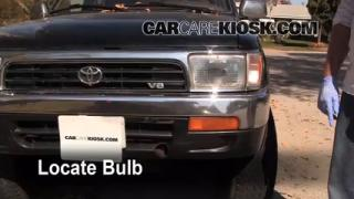 1994 Toyota 4Runner SR5 3.0L V6 Lights Highbeam (replace bulb)