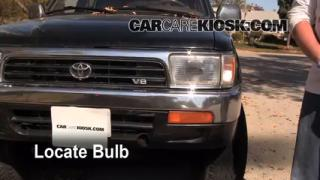 1994 Toyota 4Runner SR5 3.0L V6 Lights Turn Signal - Front (replace bulb)
