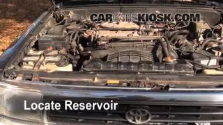 Add Windshield Washer Fluid Toyota 4Runner (1990-1995)