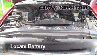 How to Clean Battery Corrosion: 1995-1997 Chevrolet Blazer