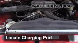 1995 Dodge Ram 1500 5.2L V8 Standard Cab Pickup Air Conditioner Recharge Freon