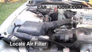 1995 Honda Civic EX 1.6L 4 Cyl. Coupe (2 Door) Filtro de aire (motor) Control